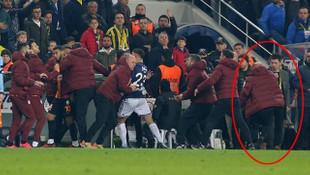 Fenerbahçe - Galatasaray derbisinde dikkatlerden kaçan o detay!