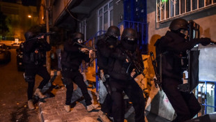 Örgüt üyelerine para dağıtan DEAŞ'lılara operasyon: 13 gözaltı