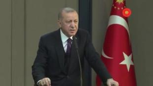 Erdoğan'dan FOX TV muhabirine çok sert tepki