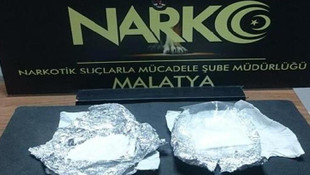 Malatya'da 2 kişi uyuşturucudan tutuklandı !