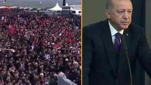 Erdoğan ''yalan'' dedi ama sosyal medya bu görüntüleri konuşuyor!