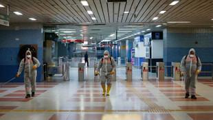 Başkent'te toplu ulaşımda virüs temizliği