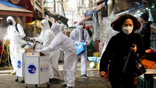 Koronavirüs salgını Yunanistan'a sıçradı