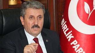 BBP lideri Destici: ''HDP'nin kapatılması gerek''