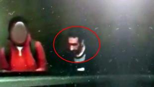İstanbul'da iğrenç taciz! Metro istasyonundaki sapık kamerada