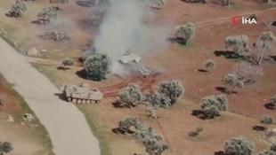 Esed rejimi tankını böyle kovaladı! O asker o anları anlattı
