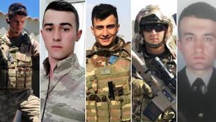 İdlib şehitlerinin kimlikleri belli oldu