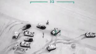 TSK Suriye'ye bomba yağdırdı ! İşte o görüntüler...