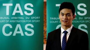 Olimpiyat şampiyonu yüzücü Sun Yang'a 8 yıl men cezası