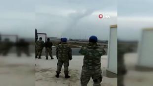TSK'nın rejim unsurlarını vurduğu an kamerada