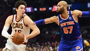 Cedi Osman'ın 15 sayısı yetmedi (Cleveland Cavaliers-New York Knicks: 134-139)