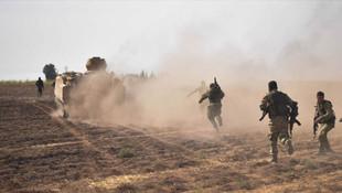 YPG/PKK'dan Barış Pınarı Harekatı bölgesine saldırı