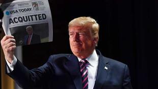 Trump, Senato'da aklanmasının ardından ilk kez konuştu