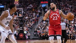 NBA'de Nets'i yenen Toronto Raptors üst üste 14. galibiyetini aldı