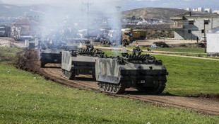 İdlib'deki gözlem noktalarına askeri sevkiyat