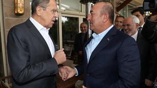 Dışişleri Bakanı Çavuşoğlu Rus mevkidaşıyla görüştü
