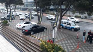 İstanbul'da iş hanına silahlı saldırı