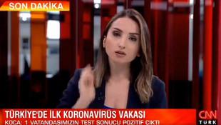 CNN Türk spikeri ağzından kaçırdı! Koronavirüslü vatandaş İstanbul'da