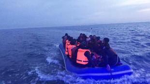 Sahil Güvenlik, 47 göçmeni durdurdu