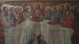 Tarihi eser sanılan tabloyu satarken yakalandılar
