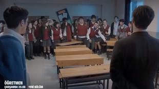Öğretmen dizisinde büyük tepki çekecek sahne!