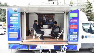 Kadıköy'de coronaya karşı mobil belediyecilik