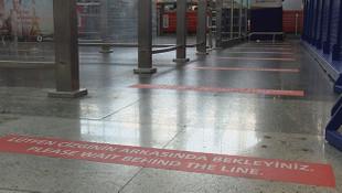 Sabiha Gökçen Havalimanı'na da ''kırmızı çizgi'' geldi