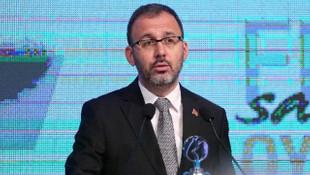 Bakan Mehmet Muharrem Kasapoğlu'dan maçlarla ilgili kritik toplantı