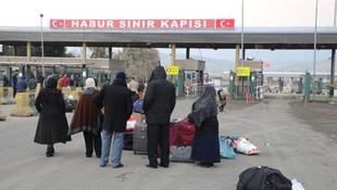 Habur Sınır Kapısı kapatıldı