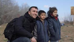 Ünlü oyuncu Ulaş Tuna Astepe Yunanistan sınırına gitti