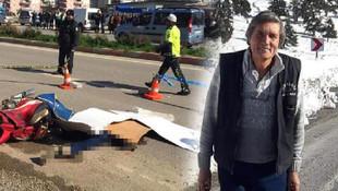 Kamyonla çarpışan motosikletin sürücü öldü