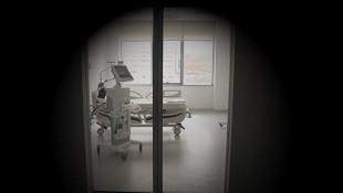 Türkiye'de koronavirüs hastalarının kaldığı odalar görüntülendi