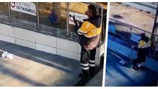 İBB sözcüsü paylaştı: Belediye görevlisi çöpü bırakıp fotoğrafını çekiyor!