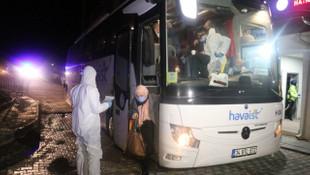 Yunanistan'dan gelen 39 kişiye karantina