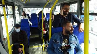 İstanbul'da hatlı minibüslere 65 yaş yasağı