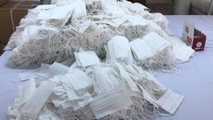 4 iş yerine baskın ! 14 bin maske ele geçirildi