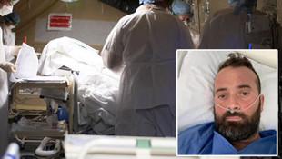 38 yaşındaki hasta koronavirüs hastası o anları böyle anlattı
