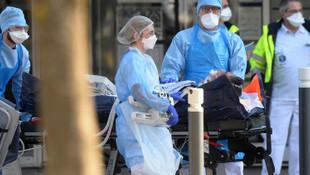 Fransa'da ölü sayısında rekor artış