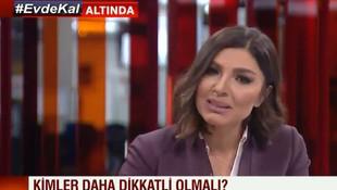 CNN TÜRK Buket Güler spikeri gözyaşlarına engel olamadı