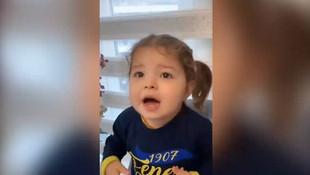 Sağlık çalışanının küçük kızından ''Evde Kal'' çağrısı