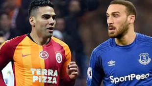 Galatasaray'ın yıldızı Falcao'dan Cenk Tosun'a sürpriz!