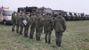 Rusya ordusu İtalya'da ! Kurulmaya başlandı...