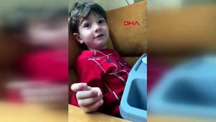 Rektör 4 yaşındaki oğlunun aldığı tedbirleri görüntüledi !