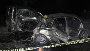 Konya'da katliam gibi kaza: 4 ölü, 4 yaralı