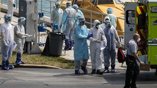 ABD'de koronavirüsten ölenlerin sayısı 2 bini aştı