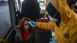 İstanbul'a giriş-çıkışlarda koronavirüs denetimi