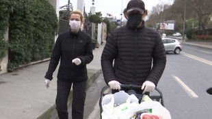 Begüm Kütük ve Erdil Yaşaroğlu'ndan koronavirüse karşı sıkı önlem