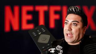 Murat Övüç ''Netflix'' diyemedi, adı değişti!