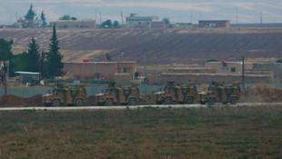 Suriye'nin kuyzeyinde ilk Rus-Türk ortak devriyesi
