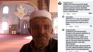 ''Şehadeti göze alamayan g*doş'' paylaşımına gözaltı